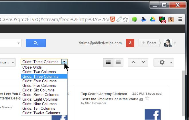 Grid Preview choose columns
