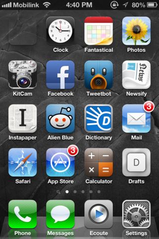 How To Add Blank, (Almost) Transparent Icons To iOS Home Screen Without Jailbreak