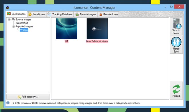Icomancer_Content Manager