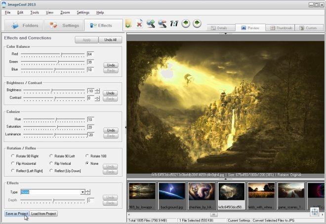 ImageCool 2013 Effects
