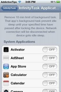 InfinityTask iOS Apps