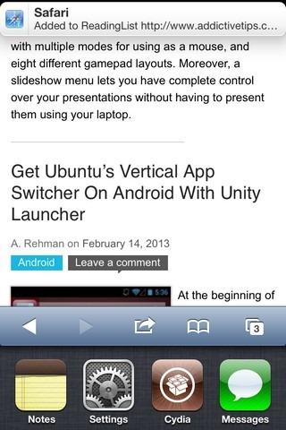InfinityTask iOS Notification