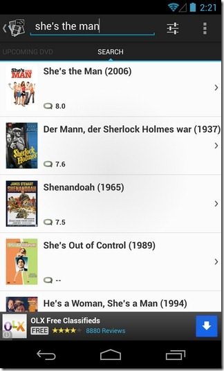 Movie-App-HD-Android-Search