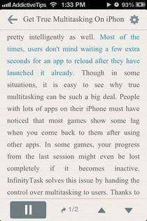 NaturalReader iOS Reader