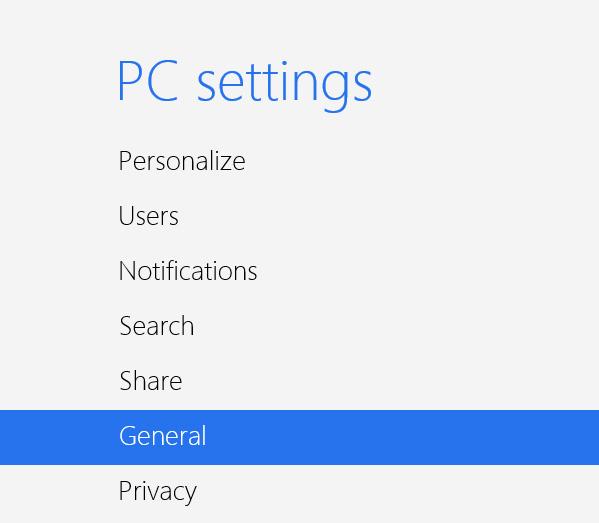 PC-Settings