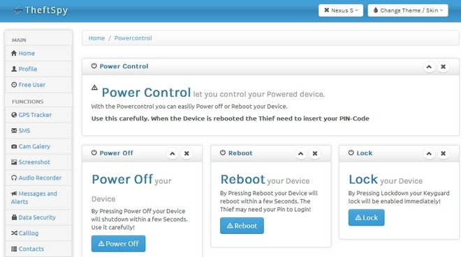 SS-TheftSpy-Android-Web-Power