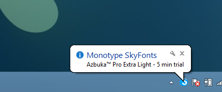 SkyFonts_New Font Trial