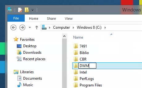 Transparency New Folder