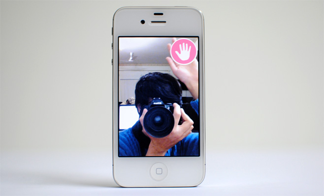 Wave-&-Pose-for-iPhone-hands-free-self-portraits