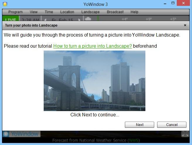 YoWindows 3S_Custom Landscape