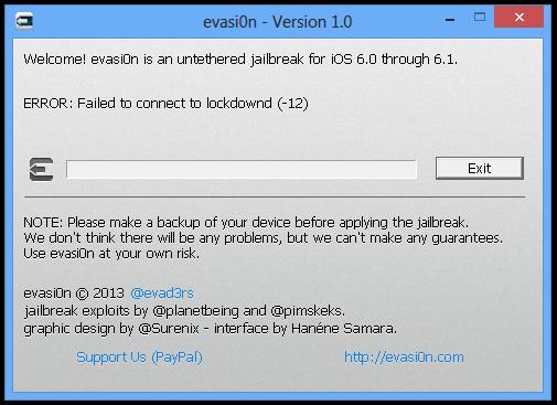 evasi0n jailbreak lockdown error 2