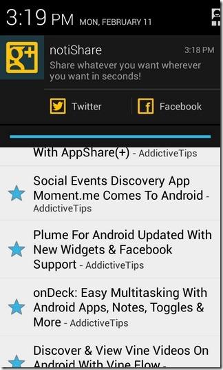 notiShare-Android-Sample2