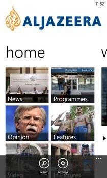 Al Jazeera WP Home