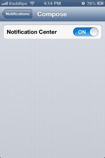 Compose iOS Enable