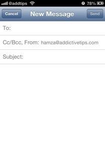 Compose iOS Mail