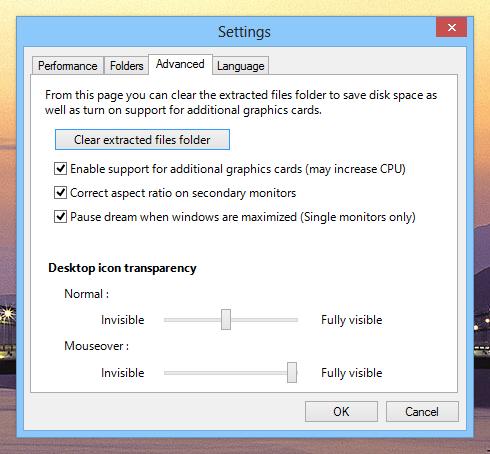 DeskScapes 8_Settings_Advanced