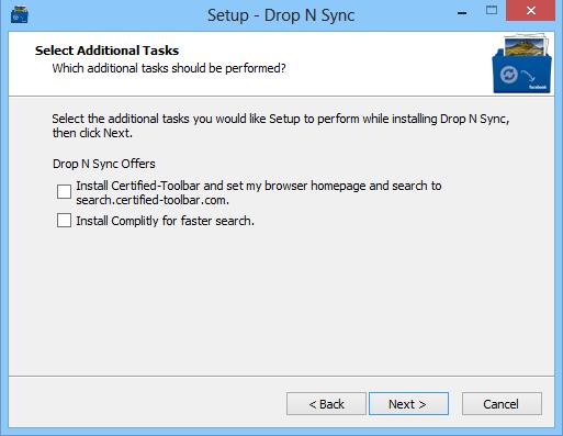 Drop N Sync_Toolbar