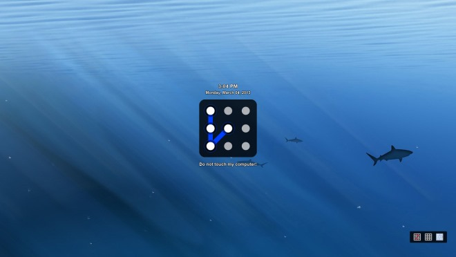 Eusing Maze Lock_Lockscreen