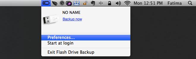 Flash Drive Backup