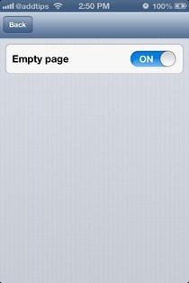 LiveWallpaper iOS Empty