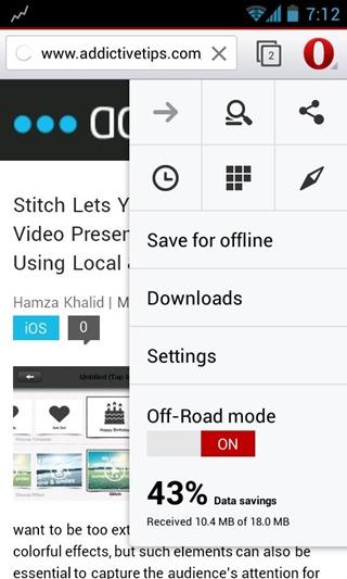 Opera Browser Beta 16