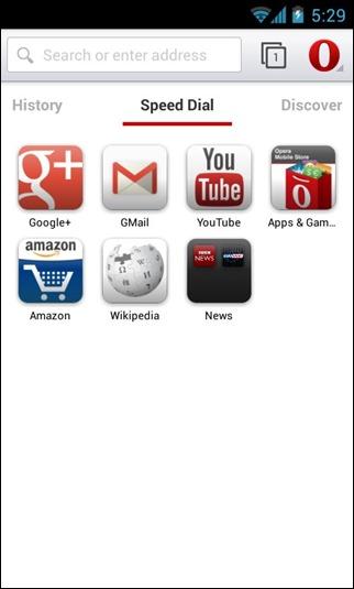 Opera Browser Beta 17