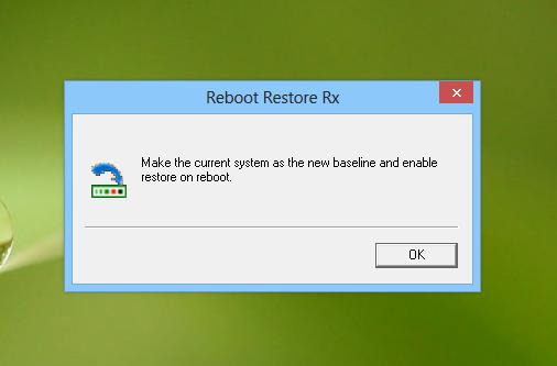Reboot Restore Rx_baseline
