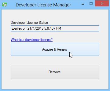 Windows App Boss_Dev License
