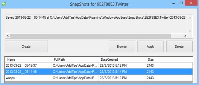 Windows App Boss_Snapshot