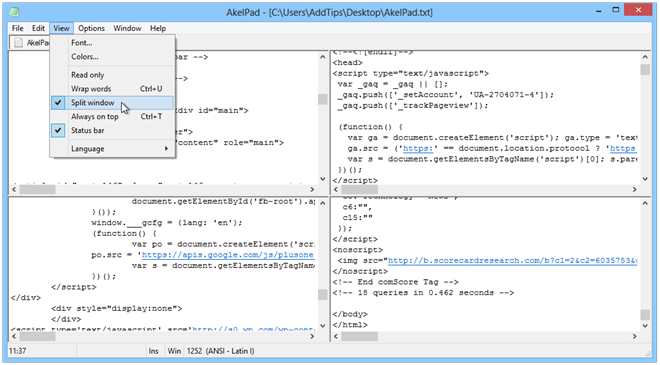 AkelPad_Split-Window.png