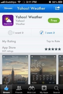 AppShopper Social iOS App