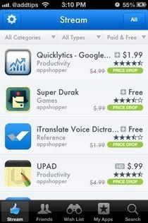 AppShopper Social iOS Stream
