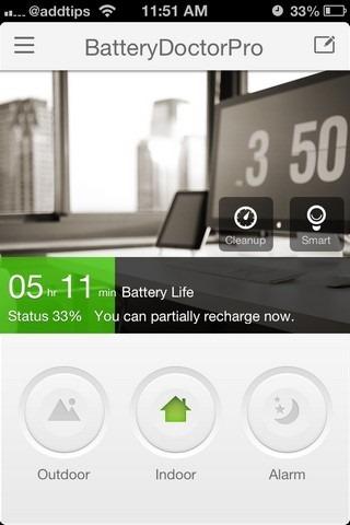 BatteryDoctorPro iOS Home