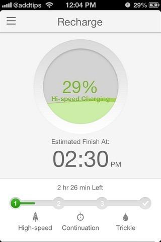 BatteryDoctorPro iOS Recharge