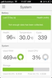 BatteryDoctorPro iOS System