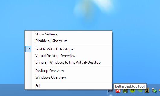 BetterDesktopTool - Notficiation