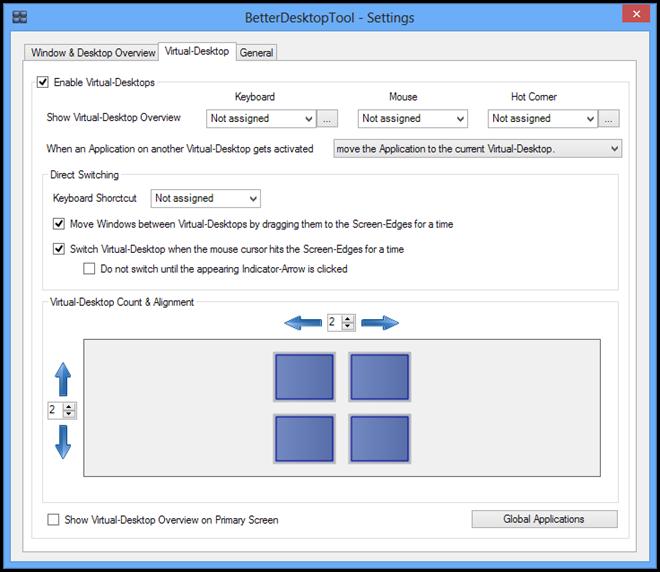 BetterDesktopTool - Setting