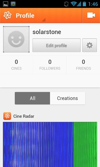 Cinemagram for Android 07
