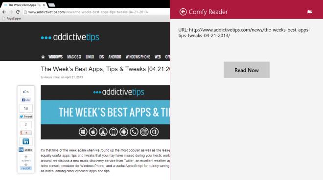 Comfy Reader_Read Now
