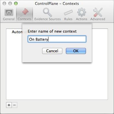 ControlPlane Context