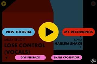 Crossfader iOS Record