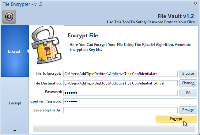 CryptoPAD_File Encrypter