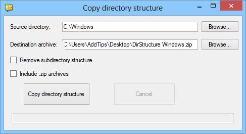 DirStructureCopy