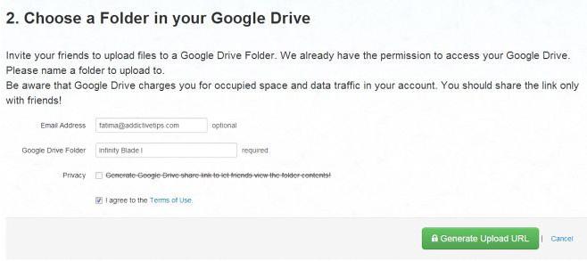 EntourageBox-choose-folder-Google-Drive