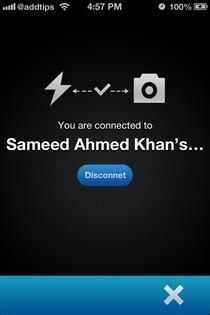 External Flash iOS Connection