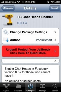 FB Chat Heads Enabler