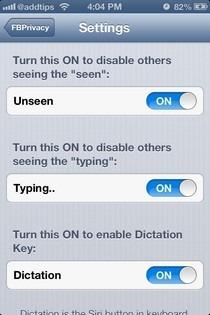 FBPrivacy iOS Both