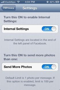 FBPrivacy iOS FB