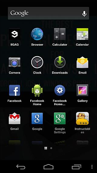 Facebook Home Apps 2