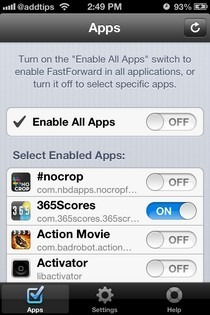 FastForward iOS Apps
